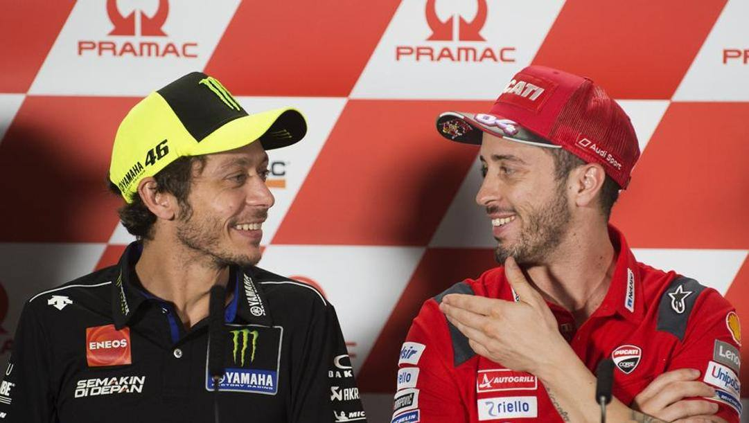 Valentino Rossi e Andrea Dovizioso. CiamilloeCastoria